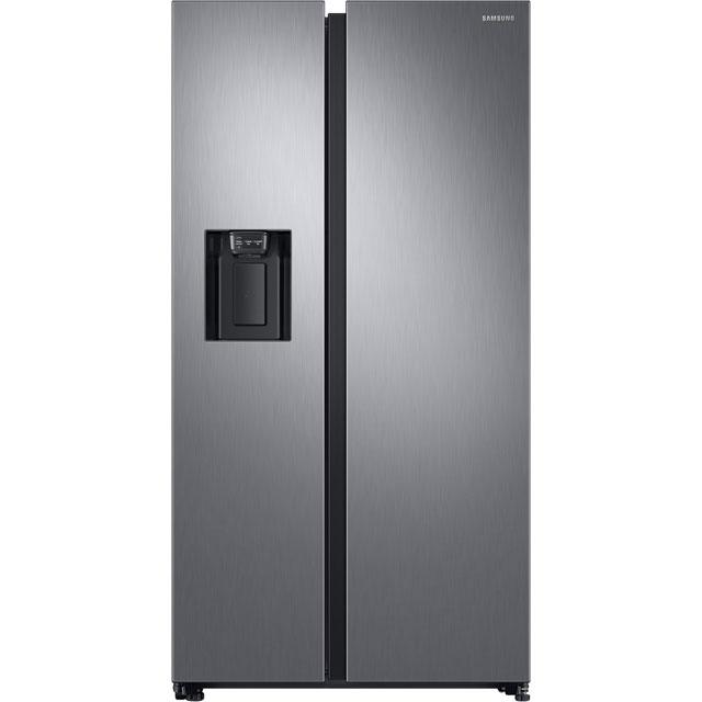 Samsung RS8000 Free Standing American Fridge Freezer in Matt Stainless Steel