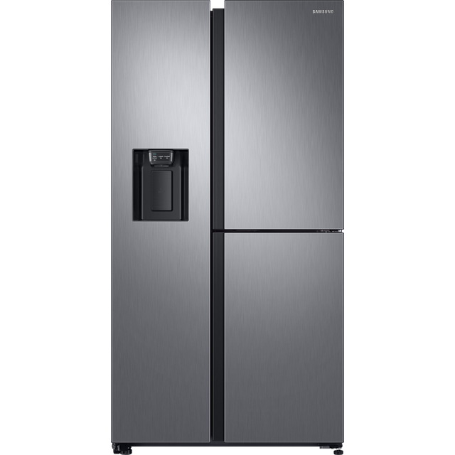 Samsung RS8000 RS68N8670S9 American Fridge Freezer - Matt Stainless Steel - A+ Rated - RS68N8670S9_SS - 1