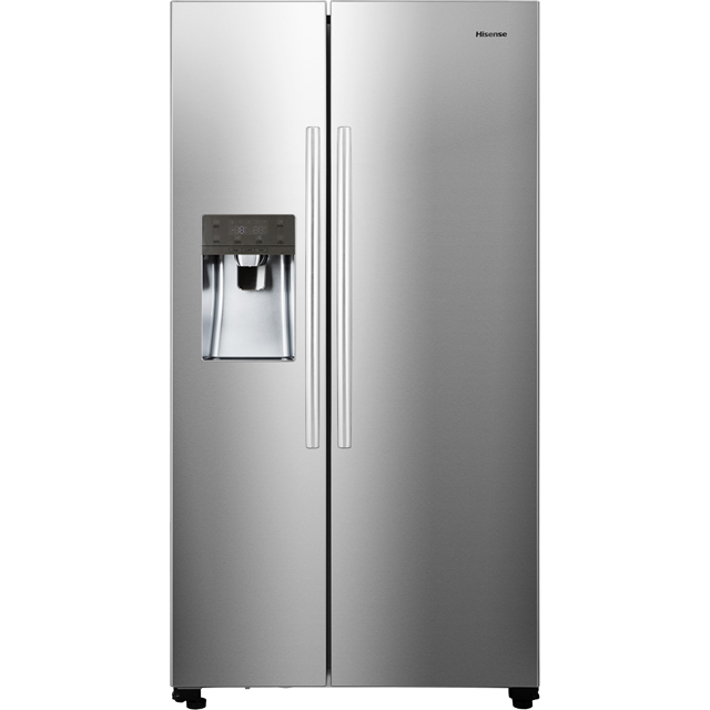 Hisense RS696N4IC1 American Fridge Freezer - Stainless Steel Effect - RS696N4IC1_SS - 1