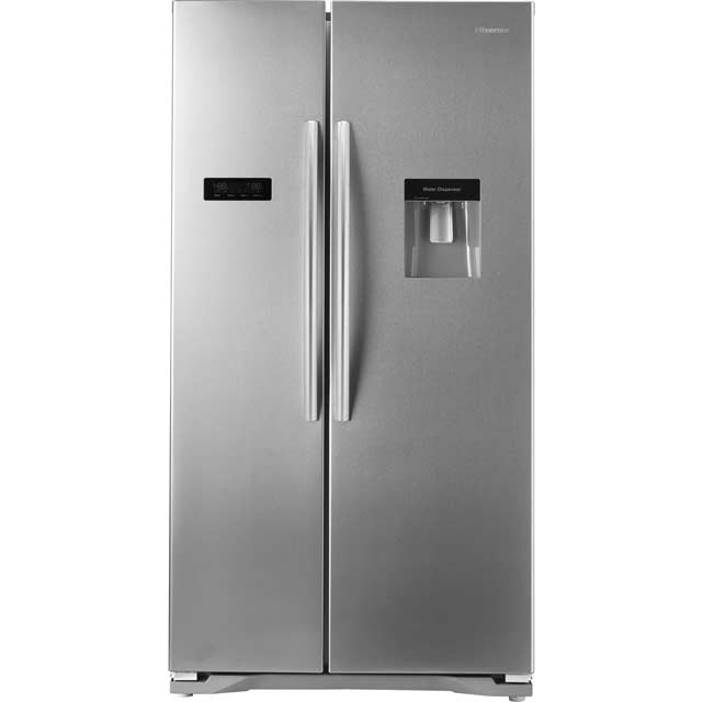 Hisense RS723N4WC1 American Fridge Freezer - Stainless Steel Effect
