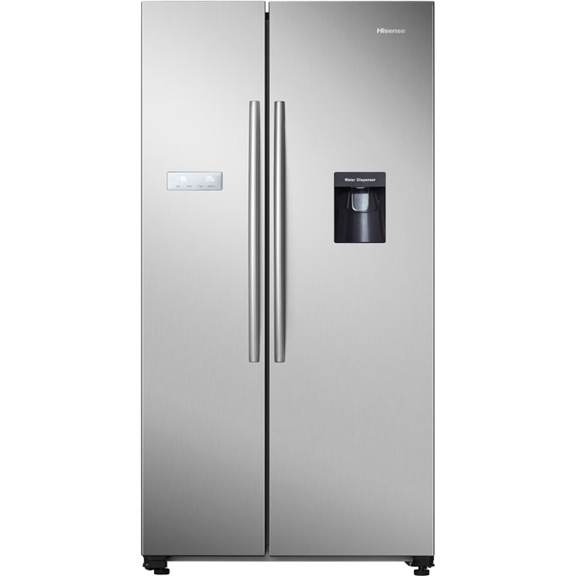 Hisense RS741N4WC11 American Fridge Freezer - Stainless Steel - A+ Rated