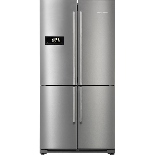 Rangemaster SXS RSXS18SS/C American Fridge Freezer - Stainless Steel - A+ Rated