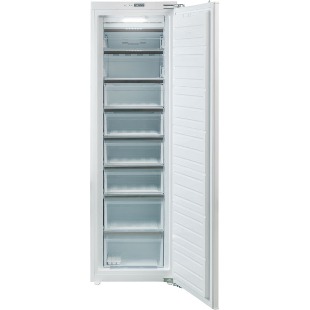 Rangemaster RTFZ18/INT Integrated Frost Free Upright Freezer with Sliding Door Fixing Kit - A+ Rated - RTFZ18/INT_WH - 1