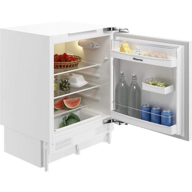 Hisense RUL173D4AW11 Integrated Under Counter Fridge - A+ Rated