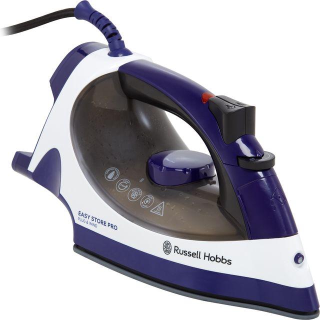 Russell Hobbs 23780 2400 Watt Iron -Purple / White