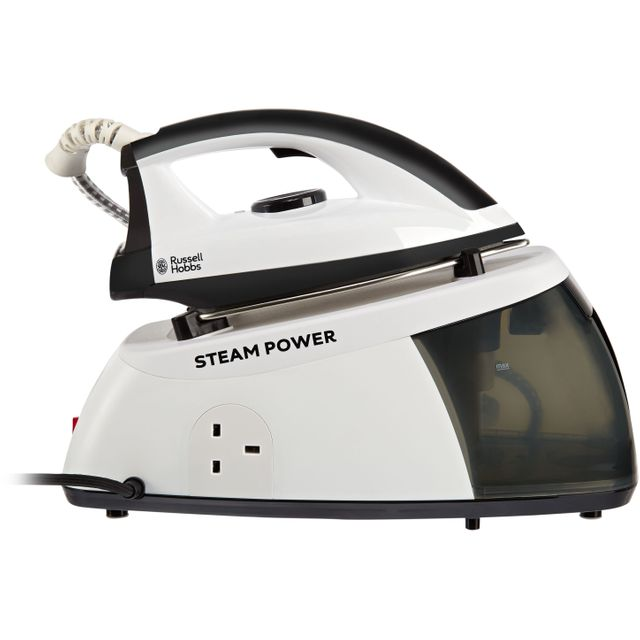 Russell Hobbs 24420 Pressurised Steam Generator Iron - Black / White