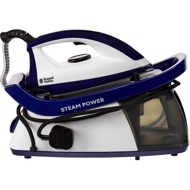 Russell Hobbs 24440 Pressurised Steam Generator Iron - Purple / White