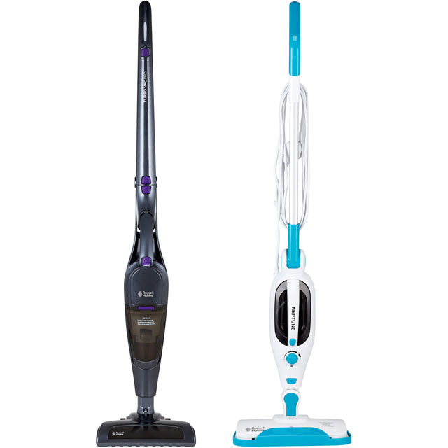 Russell Hobbs Cordless Vacuum Cleaner And Steam Mop Bundle
