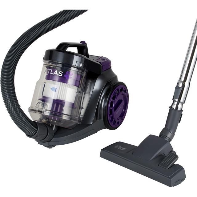 Russell Hobbs Floorcare Atlas Pets Cyclonic RHCV3511 Cylinder Vacuum Cleaner in Purple / Grey