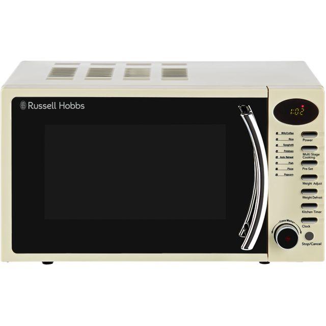 Russell Hobbs RHM1714CC 17 Litre Microwave - Cream