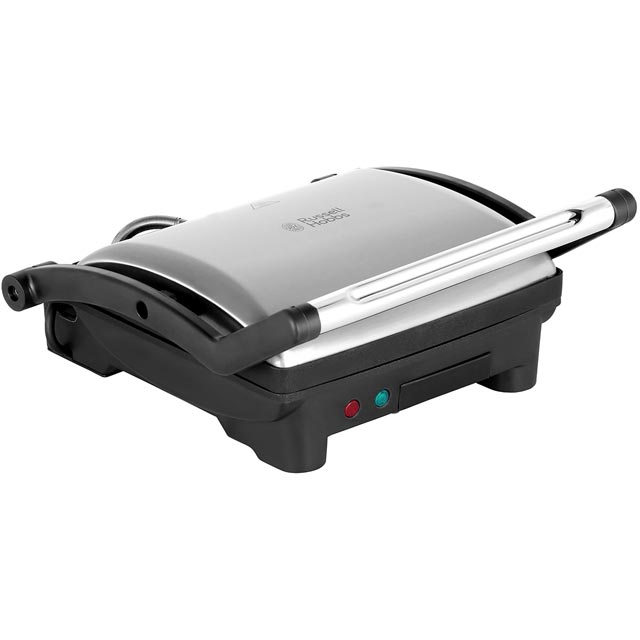 Russell Hobbs Panini Grill And Griddle 17888 Sandwich Toaster - Stainless Steel