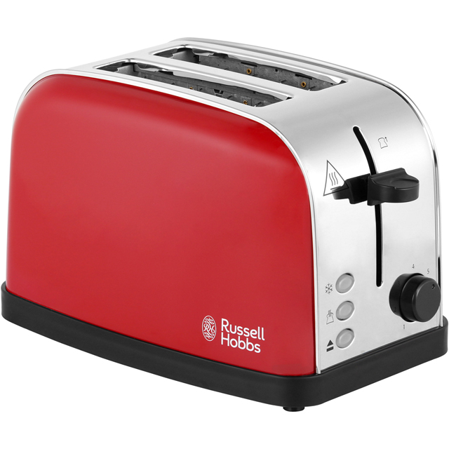 Russell Hobbs Dorchester 2 Slice Toaster - Red