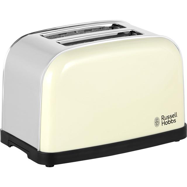Russell Hobbs Dorchester 18783 2 Slice Toaster - Cream