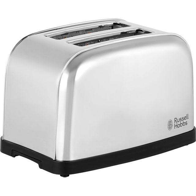 Russell Hobbs Dorchester 18784 2 Slice Toaster - Polished Stainless Steel - 18784_PO - 1