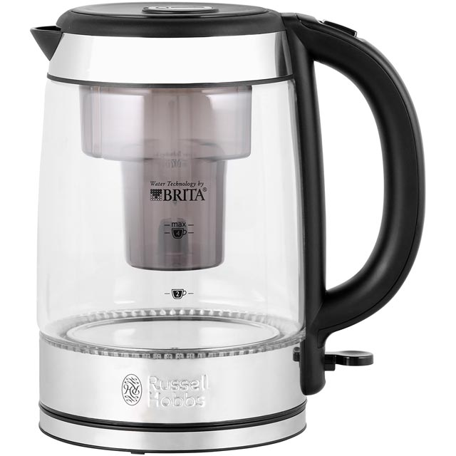 russell hobbs 20760 purity glass brita kettle limescale. Black Bedroom Furniture Sets. Home Design Ideas