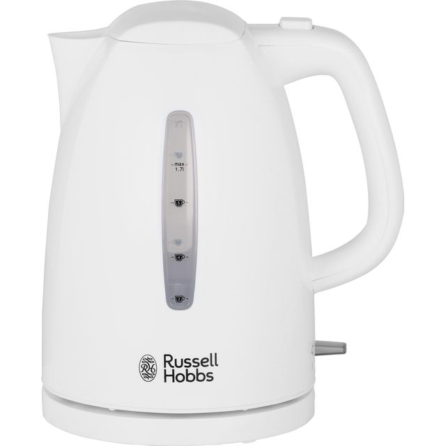 Russell Hobbs Textures 21270 Kettle - White - 21270_WH - 1