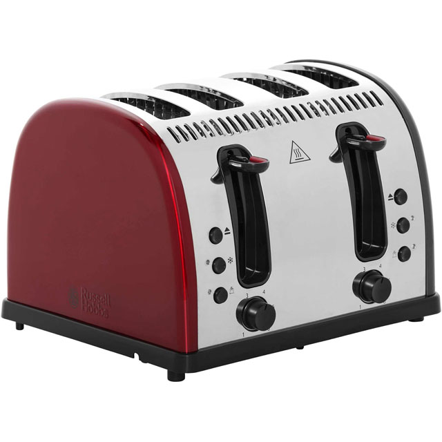 russell hobbs legacy 4 slice polished 21301 4 slice toaster red offers deals sale cheapest. Black Bedroom Furniture Sets. Home Design Ideas