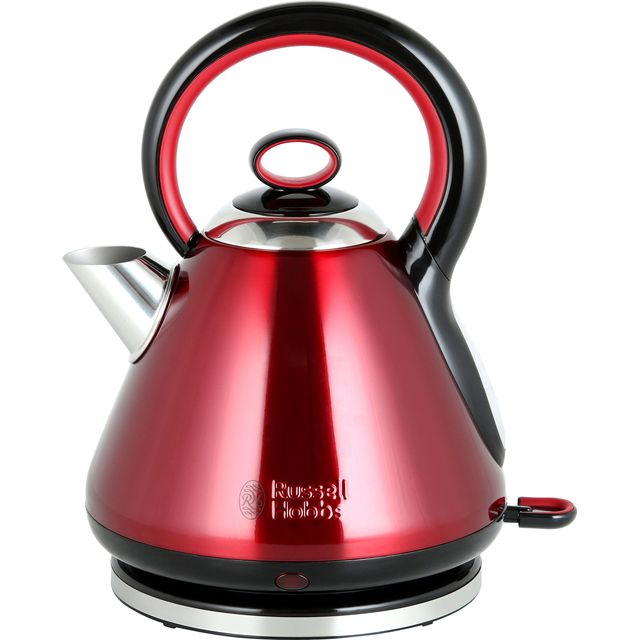 Russell Hobbs Legacy Quiet Boil 21885 Kettle - Red - 21885_RD - 1