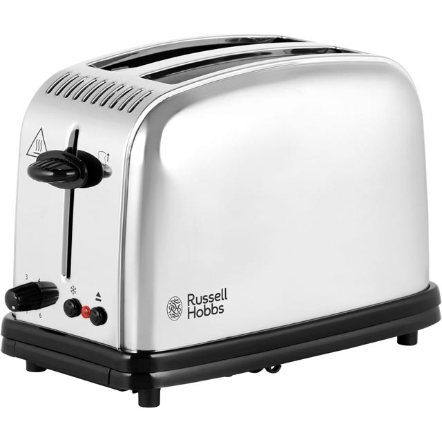 Russell Hobbs Classic 23310 2 Slice Toaster - Silver - 23310_SI - 1