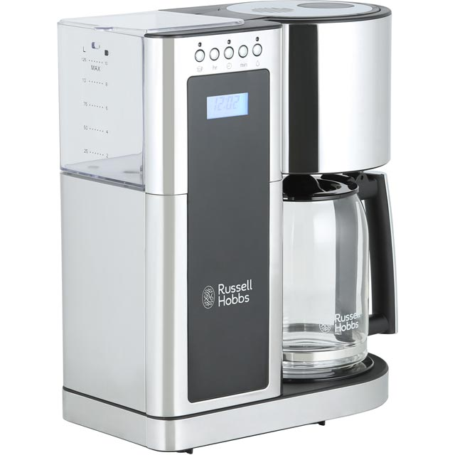 Russell Hobbs Elegance 23370 Filter Coffee Machine - Polished Stainless Steel - 23370_PSS - 1
