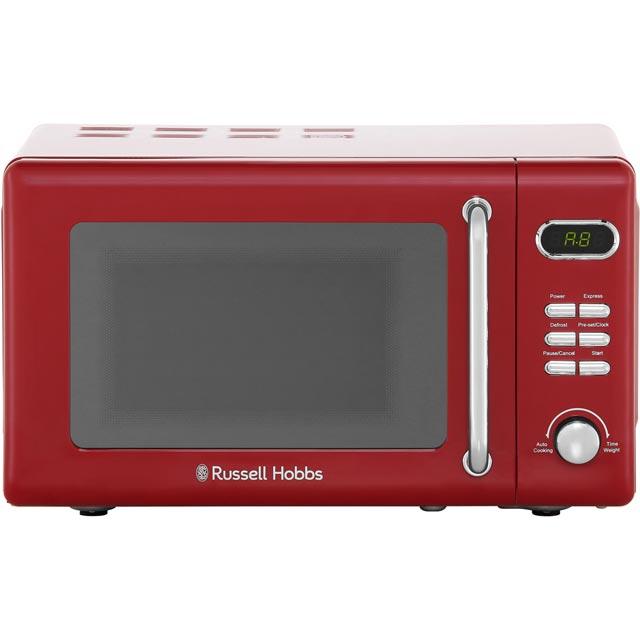 Rus Hobbs Rhretmd706r 17 Litre Microwave Red