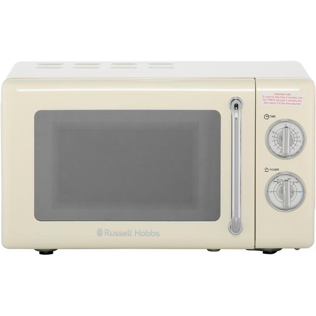 Russell Hobbs RHRETMM705C 17 Litre Microwave - Cream