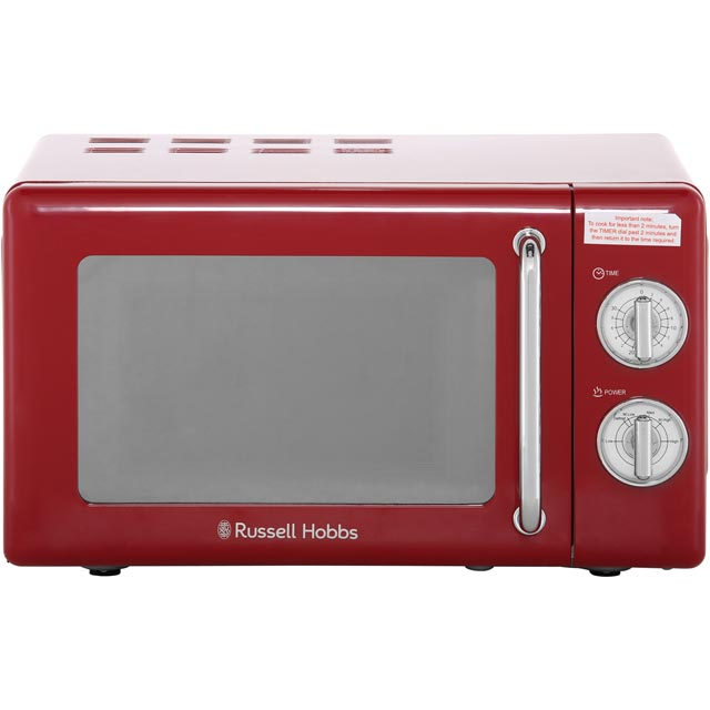 Russell Hobbs RHRETMM705R 17 Litre Microwave - Red