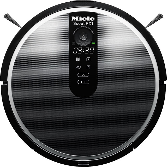 Miele RX1 Black Bagless Robotic Vacuum Cleaner - Black - RX1 Black_BK - 1