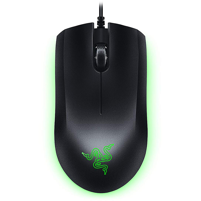 Razer Abyssus Essential Wired USB Optical Mouse - Black