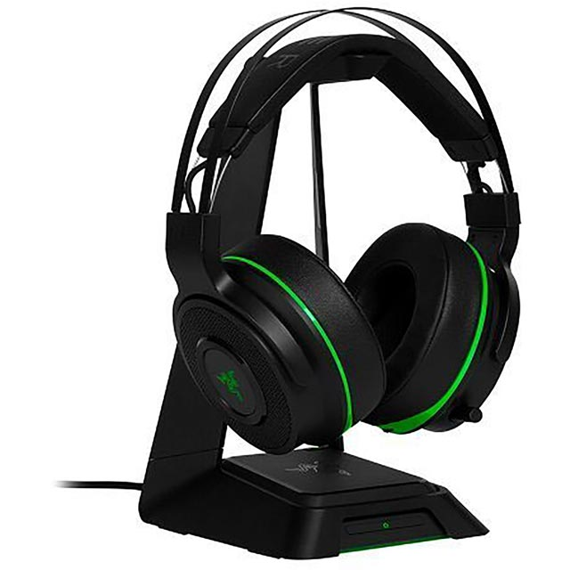 Razer Thresher Ultimate For Xbox One Wireless Headset - Black / Green - RZ04-01480100-R3G1 - 1