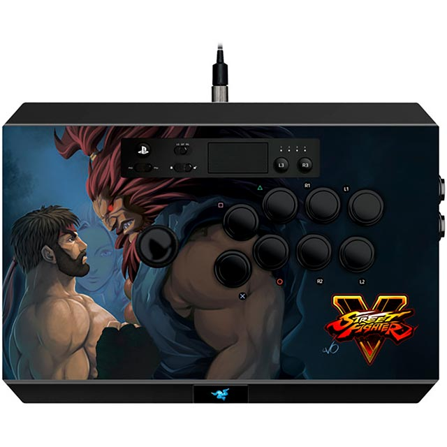 Razer Street Fighter V Panthera Arcade Stick for PS4 - Black - RZ06-01690200-R3G1 - 1