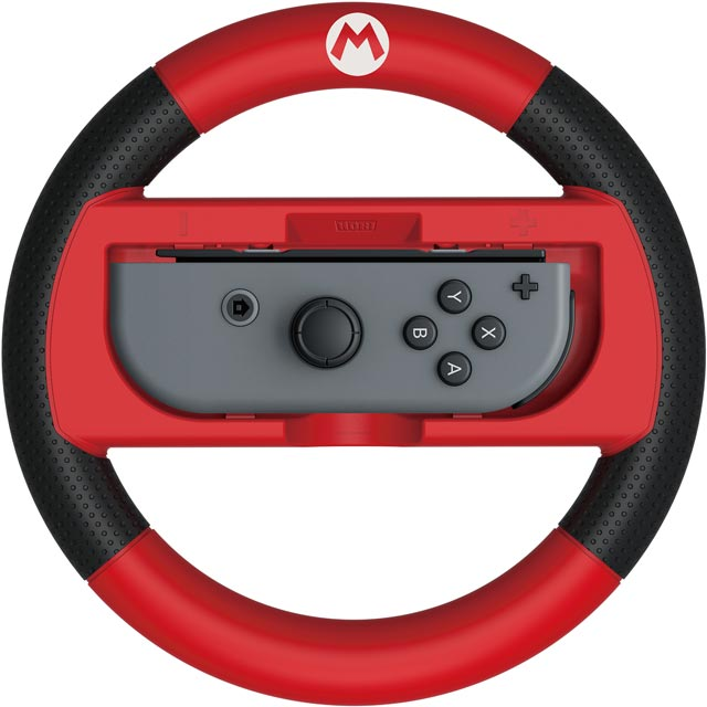 Hori Console Steering Wheel in Red / Black
