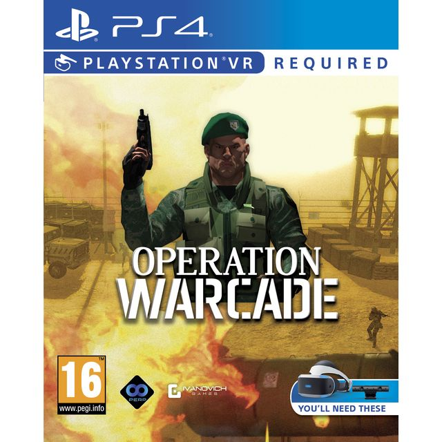Operation Warcade for Sony PlayStation