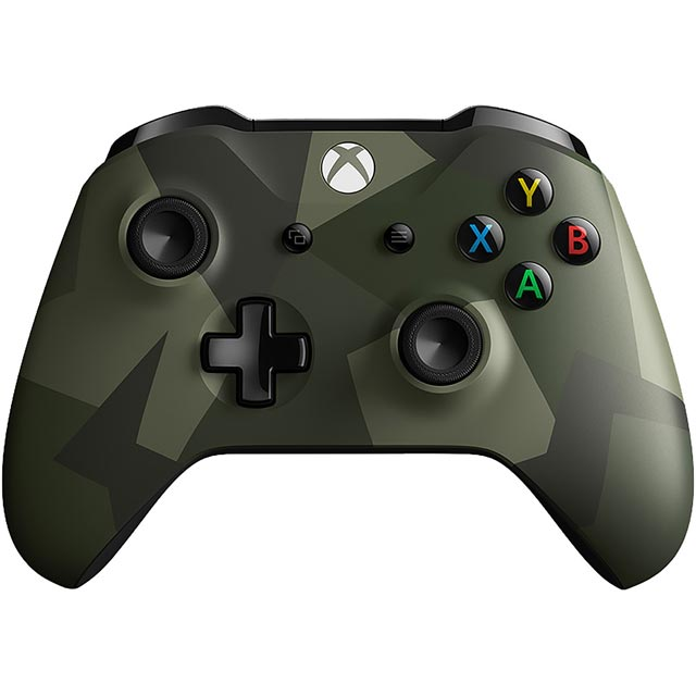 Xbox One Limited Edition Armed Forces Gaming Controller - Camouflage