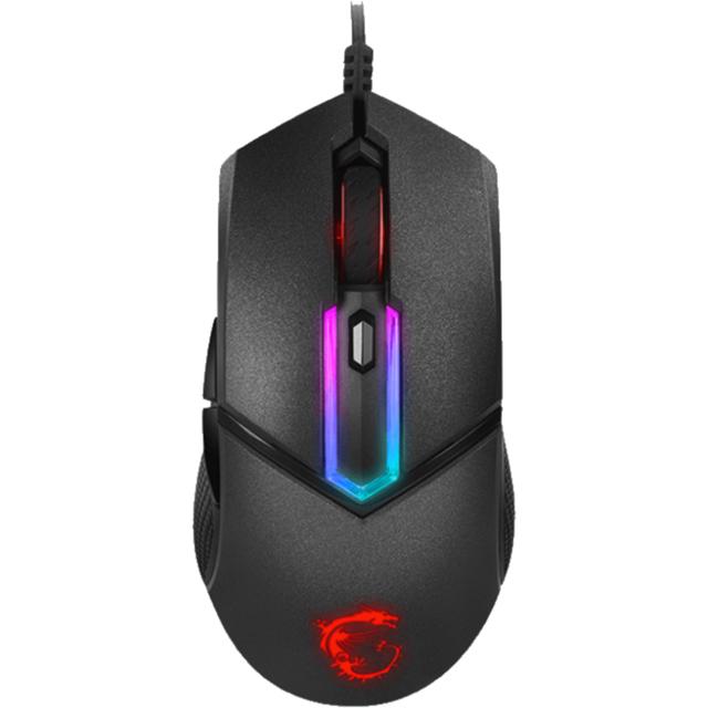 MSI Clutch GM30 Wired USB Optical Mouse - Black