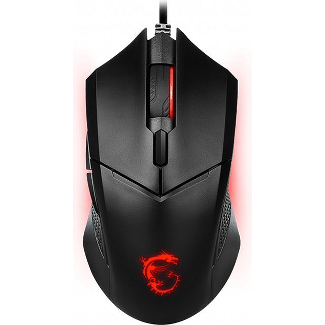 Image of MSI CLUTCH GM08 Wired USB Optical Gaming Mouse - Black