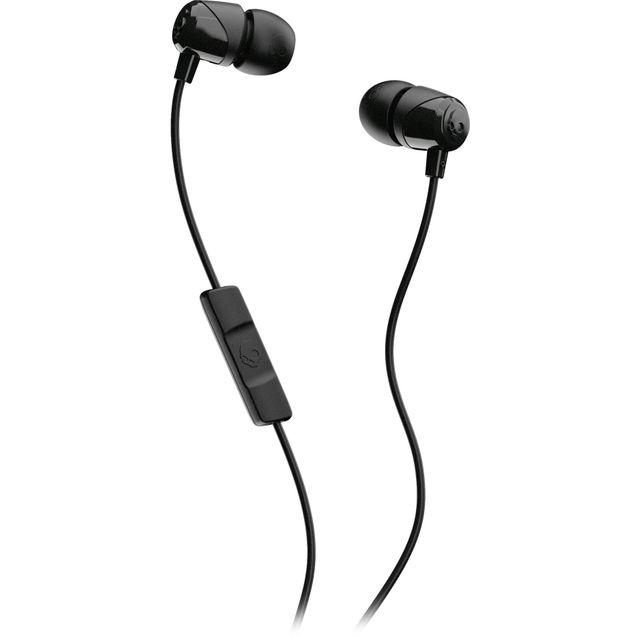 Skullcandy Jib Earbuds with Microphone In-Ear Headphones - Black