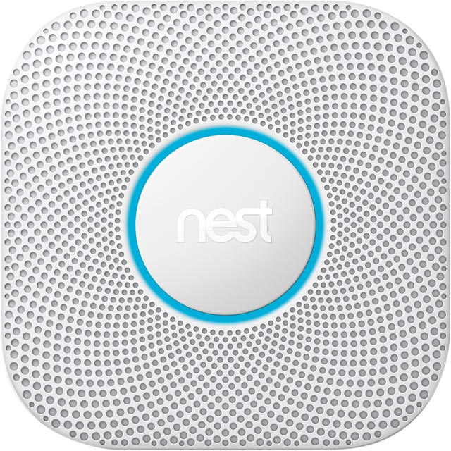 Nest Smart Smoke Alarm White S3000BWGB - S3000BWGB - 1