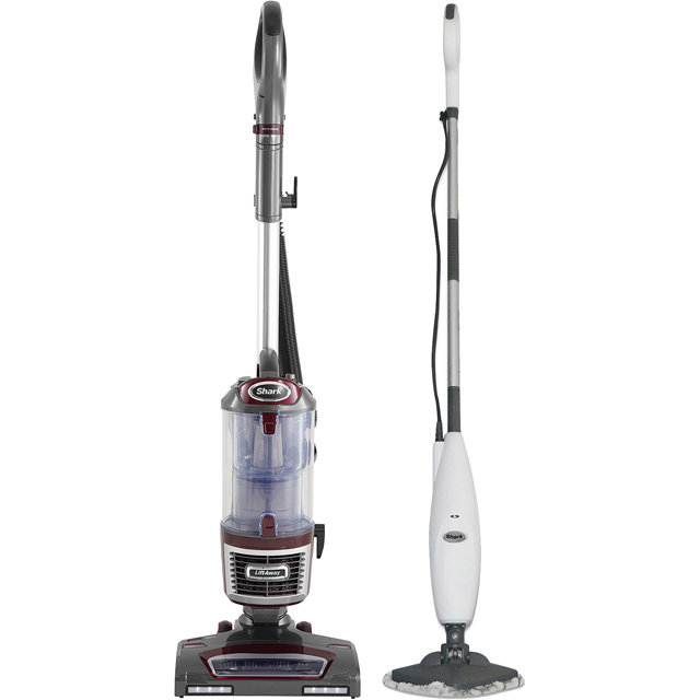Shark True Pet Upright and Steam Lite Steam Mop S3255NV601UKT Upright Vacuum Cleaner - White - S3255NV601UKT_WHBO - 1