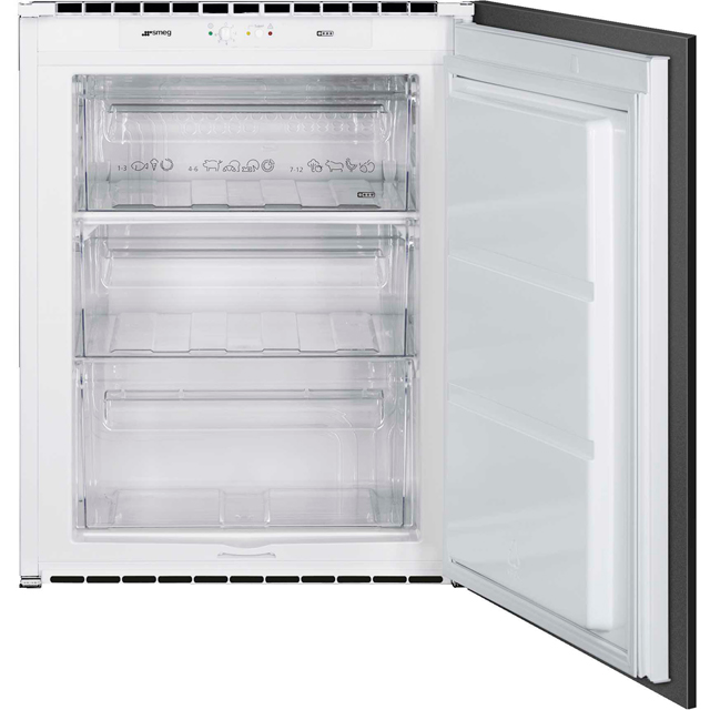 Smeg S3F072P Integrated Upright Freezer with Sliding Door Fixing Kit - A+ Rated - S3F072P_WH - 1