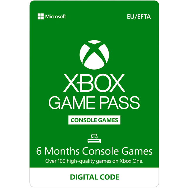 Xbox One 6 Months Xbox Game Pass - Digital Code