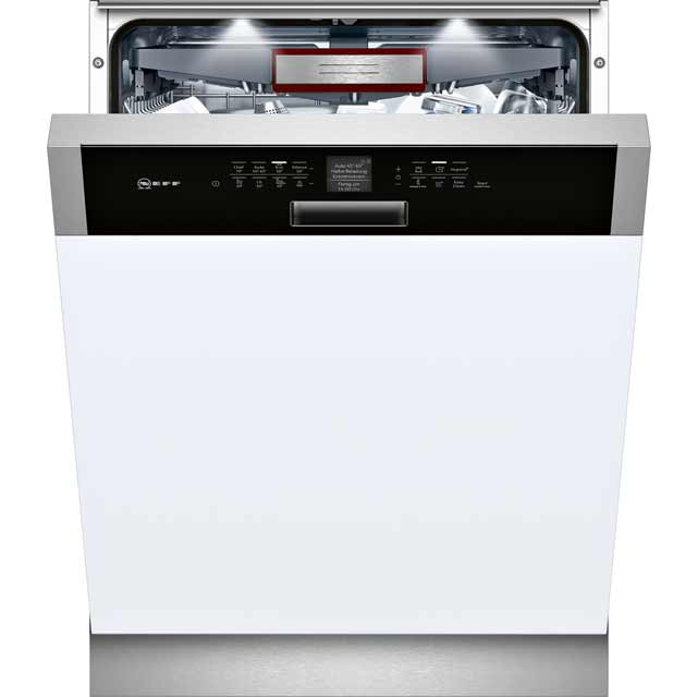 NEFF S416T80S0G Integrated Dishwasher in Black