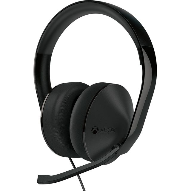 Xbox One Stereo Gaming Headset - Black - S4V-00013 - 1