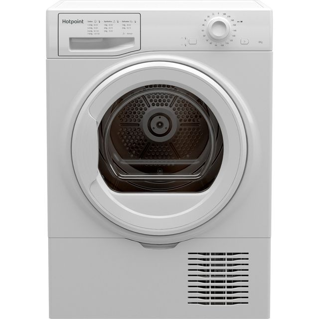 Hotpoint H2D81WUK 8Kg Condenser Tumble Dryer - White - B Rated