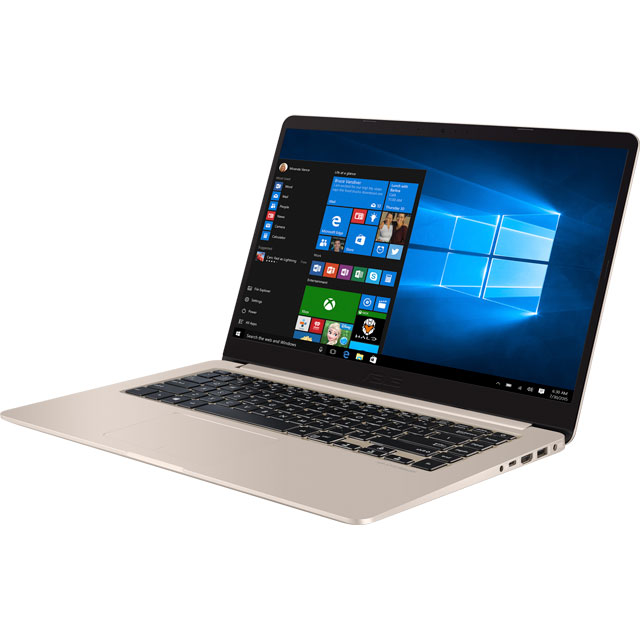 "Asus VivoBook S15 15.6"" Laptop - Gold"