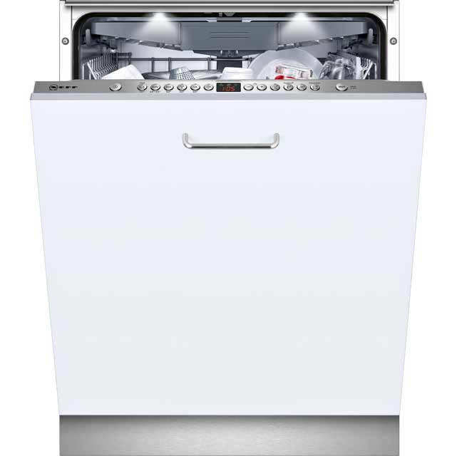 NEFF N50 Fully Integrated Standard Dishwasher - Stainless Steel with Fixed Door Fixing Kit - A++ Rated