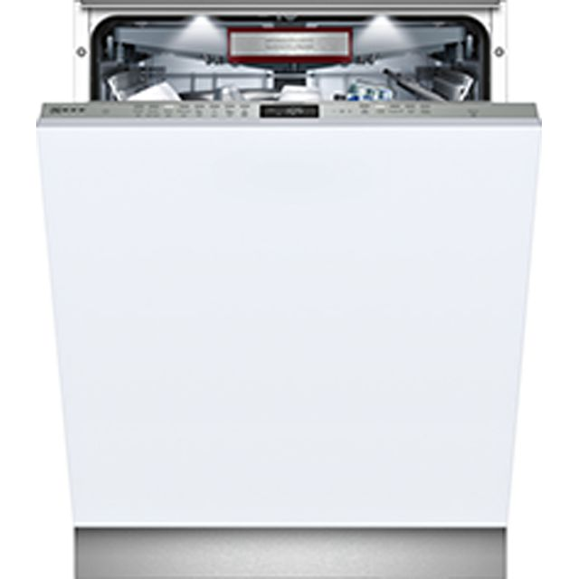 NEFF N70 S515T80D1G Fully Integrated Standard Dishwasher - Stainless Steel Control Panel - A+ Rated