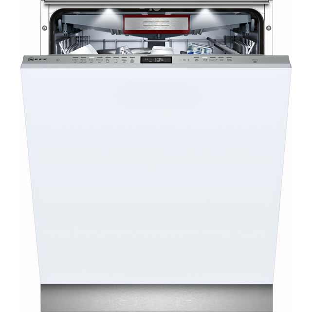 NEFF N70 S515T80D2G Fully Integrated Standard Dishwasher - Stainless Steel Control Panel - A++ Rated