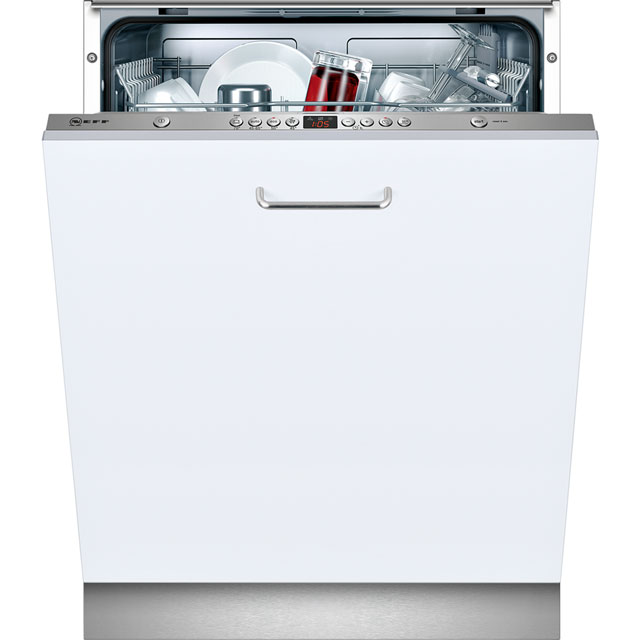 Neff S51L43X0GB Fully Integrated Standard Dishwasher - Stainless Steel