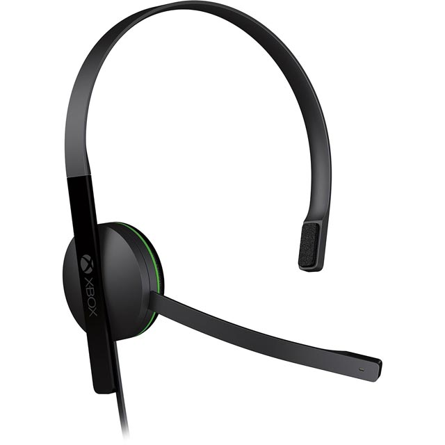 Xbox One S5V-00012 Console Headset in Black